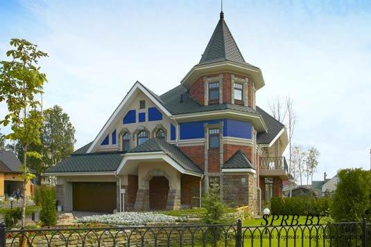 Каркасный дом 5 х 10  Каркасные дома