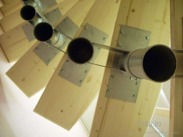 Размеры модульной лестницы своими руками
