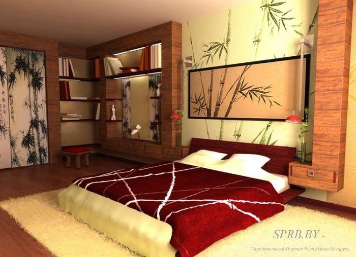 Фото интерьера спальни в китайском стиле фото