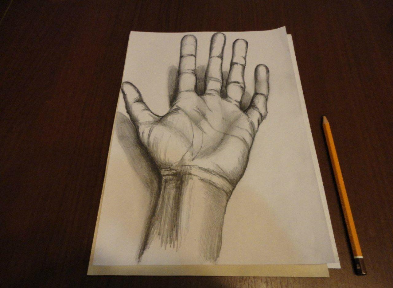 фото красивых рисунков на бумаге