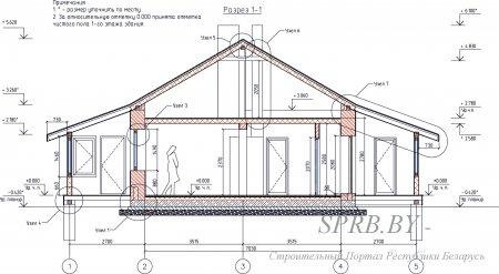 Бесплатный проект дома: полный комплект чертежей с описанием и рекомендациями