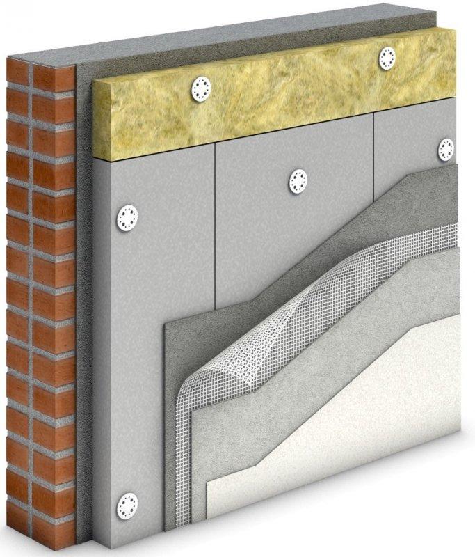 Утепление современного дома экструзионным пенополистиролом ТЕХНОНИКОЛЬ CARBON ECO FAS. Легкий монтаж на долгие годы.