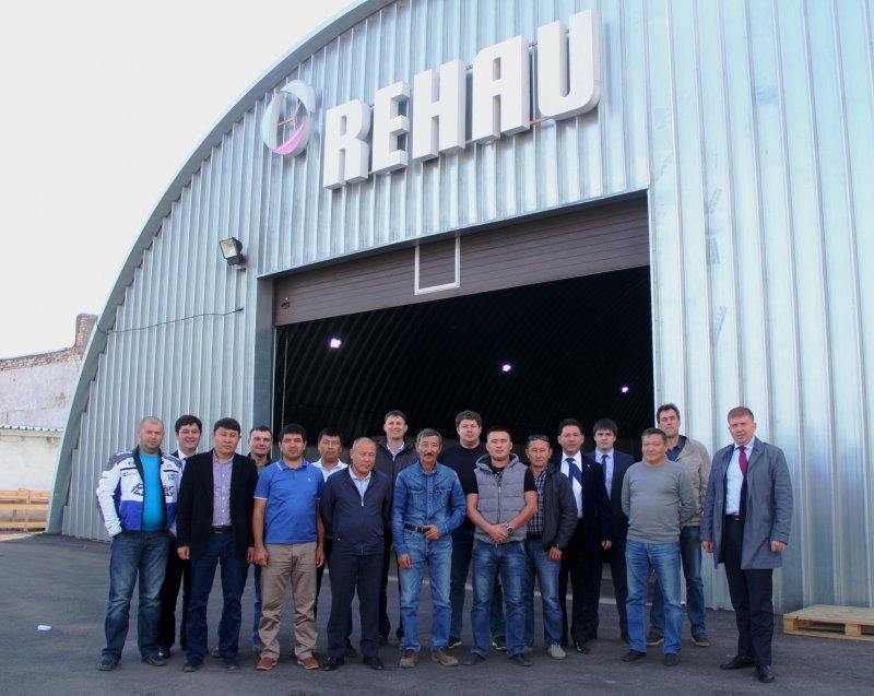 REHAU укрепляет позиции в Казахстане: новый склад в Астане