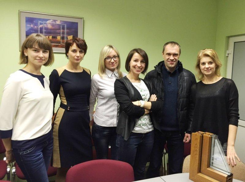 Работа на максимум: в Гродно прошел тренинг REHAU Академии