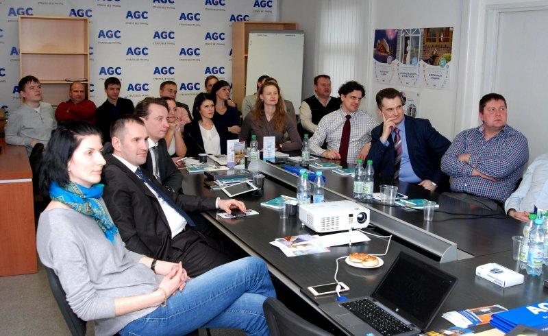 Первый совместный семинар AGC-REHAU прошел в Клину