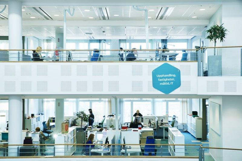 Звукопоглощающие материалы в офисах открытого типа заметно уменьшают уровень стресса сотрудников