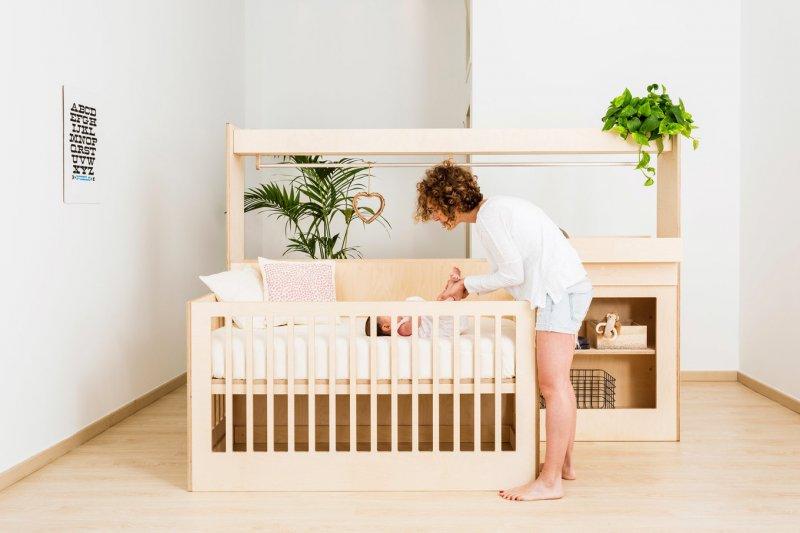 Трансформирующаяся детская мебель.
