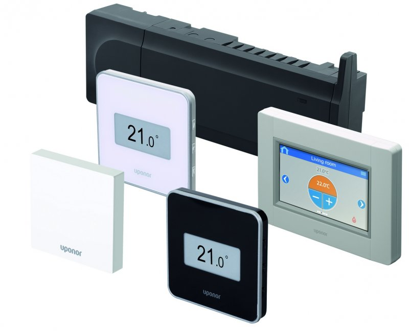 Новинка Uponor Smatrix Style – идеальный контроль температуры в доме