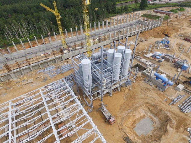 Завершен монтаж крупнейшей в Беларуси системы инфильтрации воды в грунт