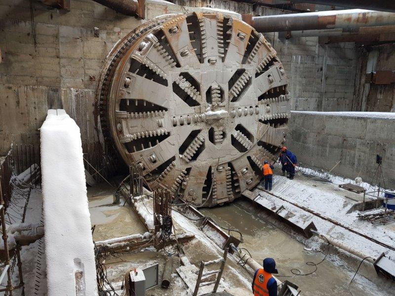 BASF помог построить первый перегон двухпутного тоннеля московского метро